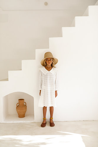 Emiliana Dress, White - Yoli & Otis