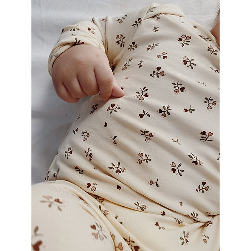 Hygsoft Onesie, Petit Amour Rose - Konges Slojd