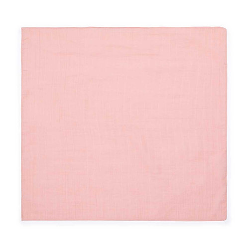 Dotted Muslin Square, Rose Tendresse - BONTON
