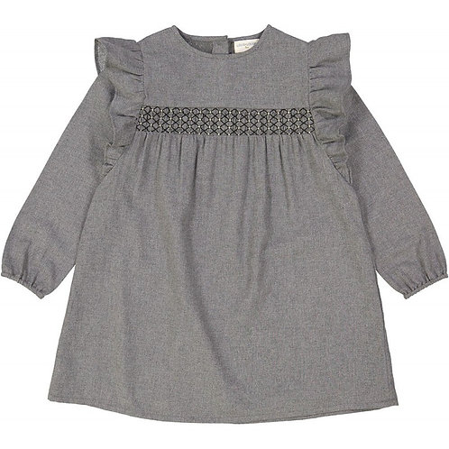 Dress Anaelle, Grey - Louis Louise