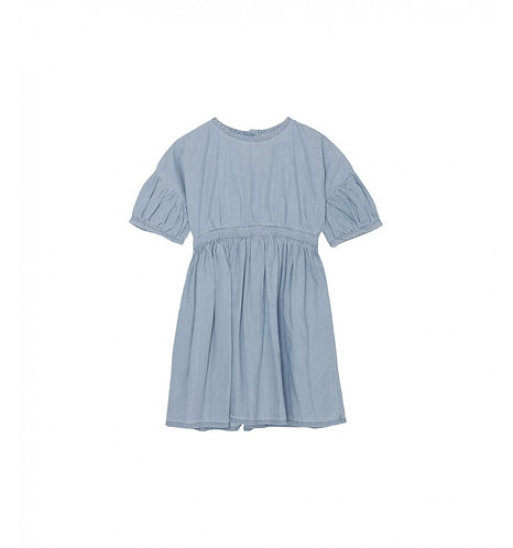 Oahu Dress, Washed Denim - Yellowpelota