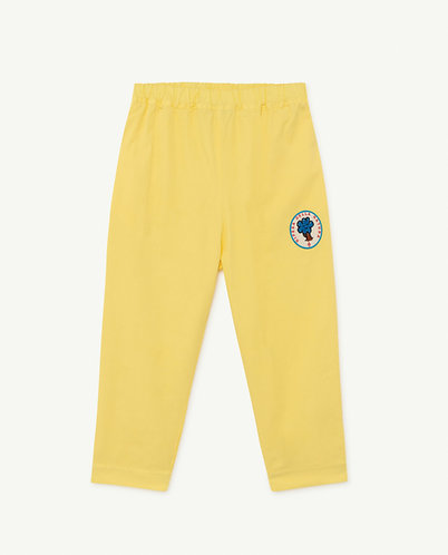 Elephant Kids Trousers, Yellow Tree - TAO