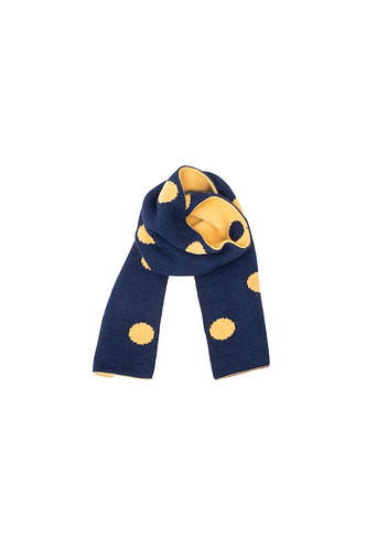 Dots Scarf, Blue - The Campamento