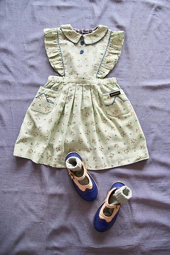 Apron Dress, Anise Flowers - Bonjour Diary