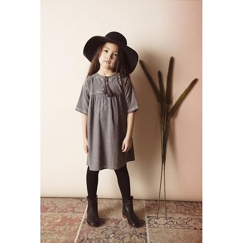 Dress Moly Lainage, Gris - Louis Louise