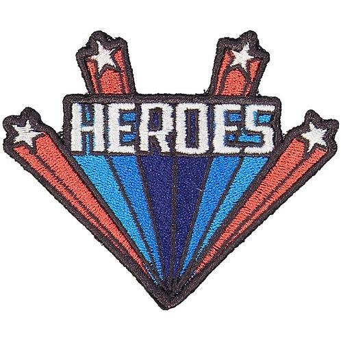 Badges Heroes, Red & Blue - Louis Louise
