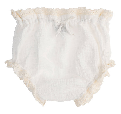 Swiss Baby Bloomer, Off White - Tocoto Vintage
