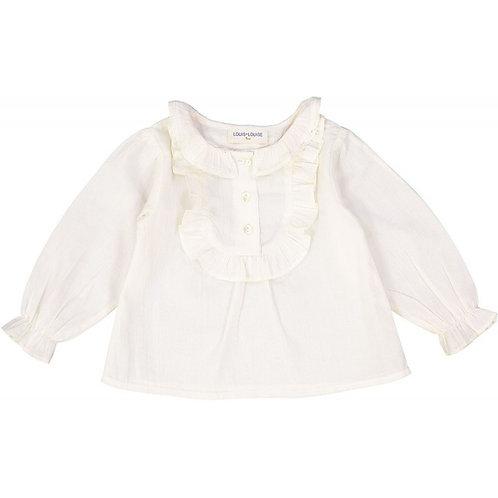 Baby Tunic Amira, White - Louis Louise