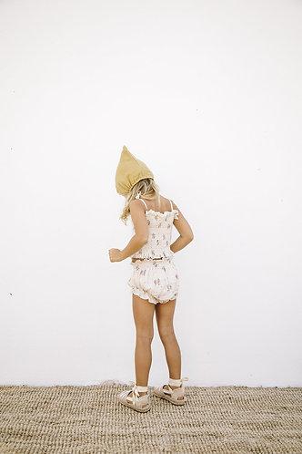 Blanca Smocked Top, Summer Blossom - LiiLU