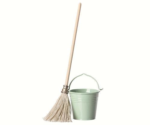 Bucket and Mop - Maileg