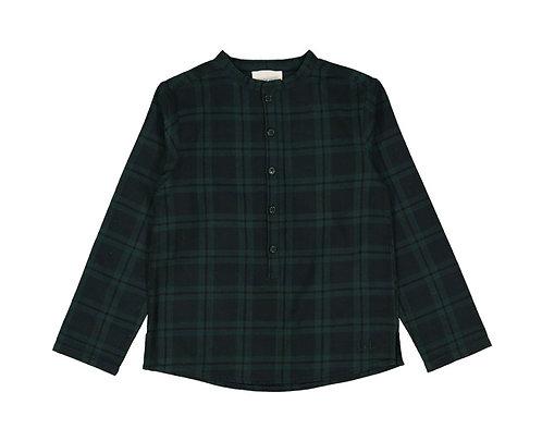 GD Pere Tartan Shirt,Green - Louis Louise