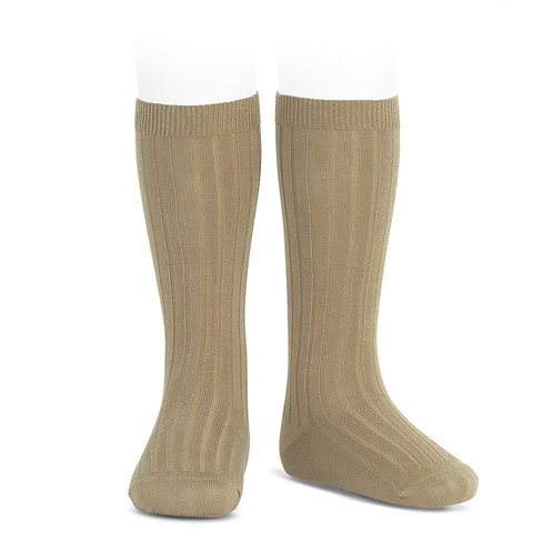 Rib Knee High Sock, Rope 331 - Condor