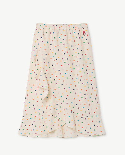 Manatee Skirt, Raw White Dots - TAO