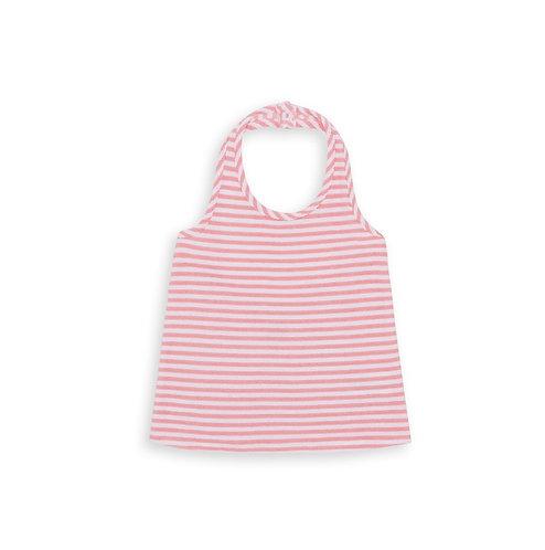 Stripes Boucle-knit Top, Rose Aux Joues - BONTON