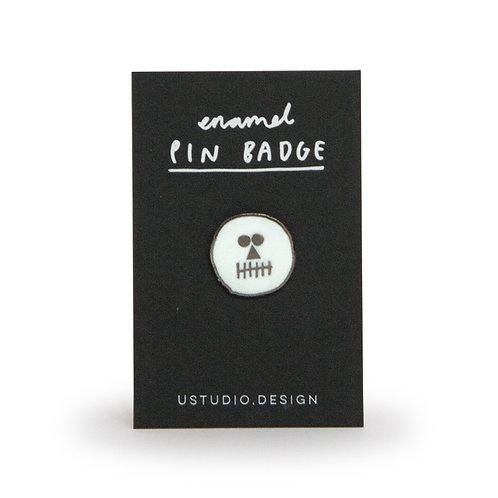 Pin Badge – Skull