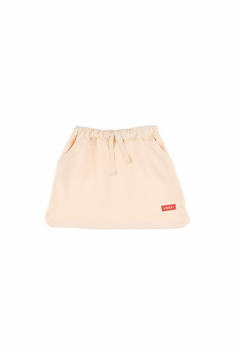 Sweet Skirt, Cream/Red - Tiny Cottons