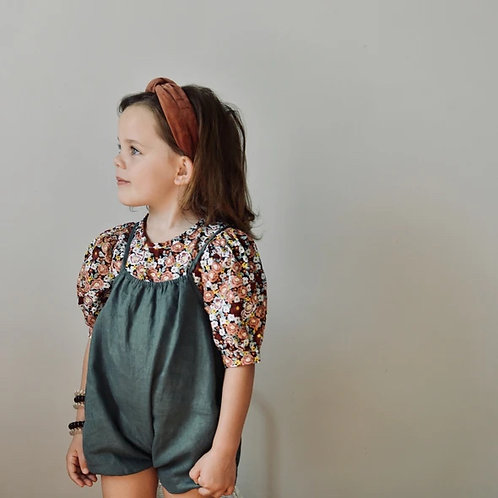 The Lucy Top,  Floral - Mysie & Nola The Label