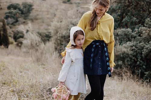 Dress Iwona, Cream - Louise Misha