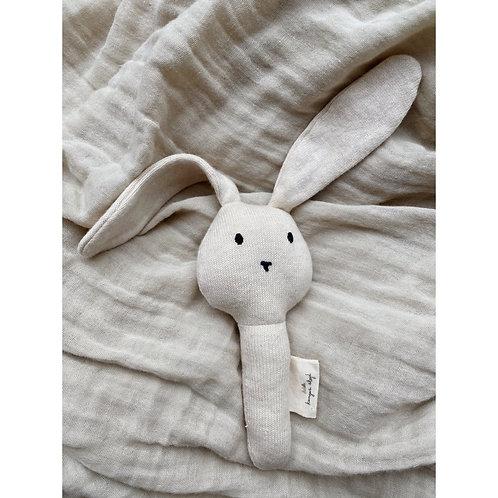 Activity Hand Rabbit, Off White  - Konges Slojd