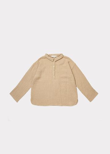 Camber Shirt, Almond - Caramel