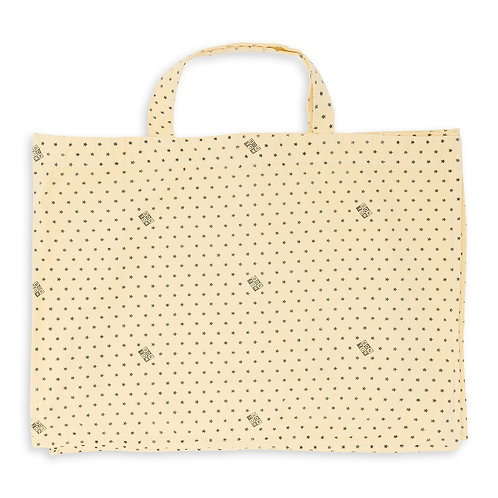 Bonton Shopping Bag, Jaune Shake - BONTON