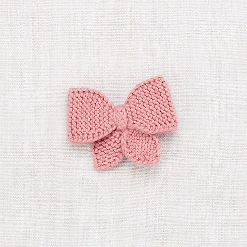 Medium Puff Bow, Rose Blush - Misha & Puff