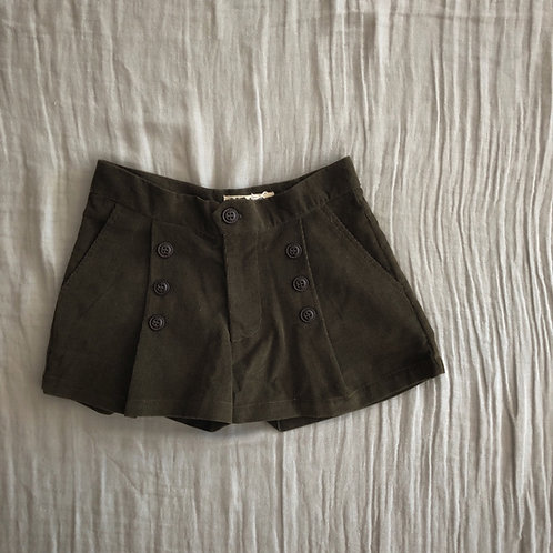 Matelot Shorts, Khaki - Noro