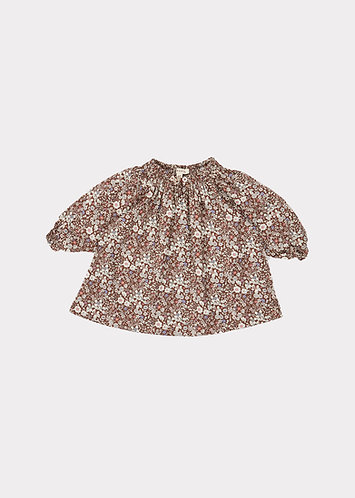 Arowana Baby Dress, Meadow Brown - Caramel London