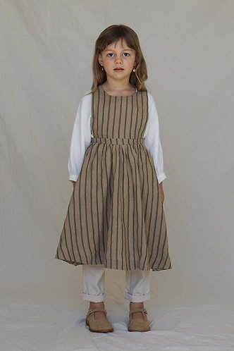 Juliette Pinafore, Jute - House Of Paloma
