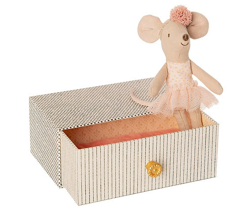 Dancing In Daybed, Little Sister Mouse - Maileg