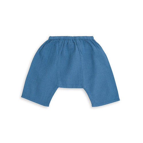 Newborns Laos Pants, Blue Auguste - BONTON