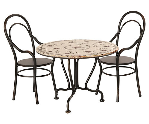 Dining Table With 2 Chairs - Maileg