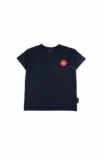 1ST Prize SS Tee, Navy/Red - Tiny Cottons
