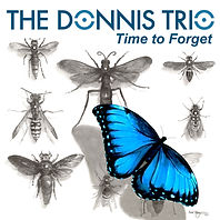 The Donnis Trio, album, single, cover art, time to forget, song, illlustration, Eric Stegmaier, www.ericstegmaier.com