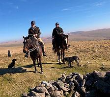 wesbite horse riding top of penn beacon.