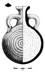 pottery profile, archaeology, archaeological, illustration by Eric Stegmaier, www.ericstegmaier.com