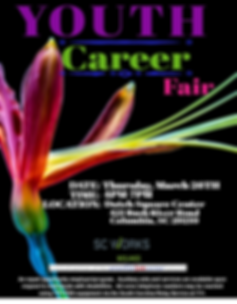 SC Works Midlands Youth Career Fair Flye