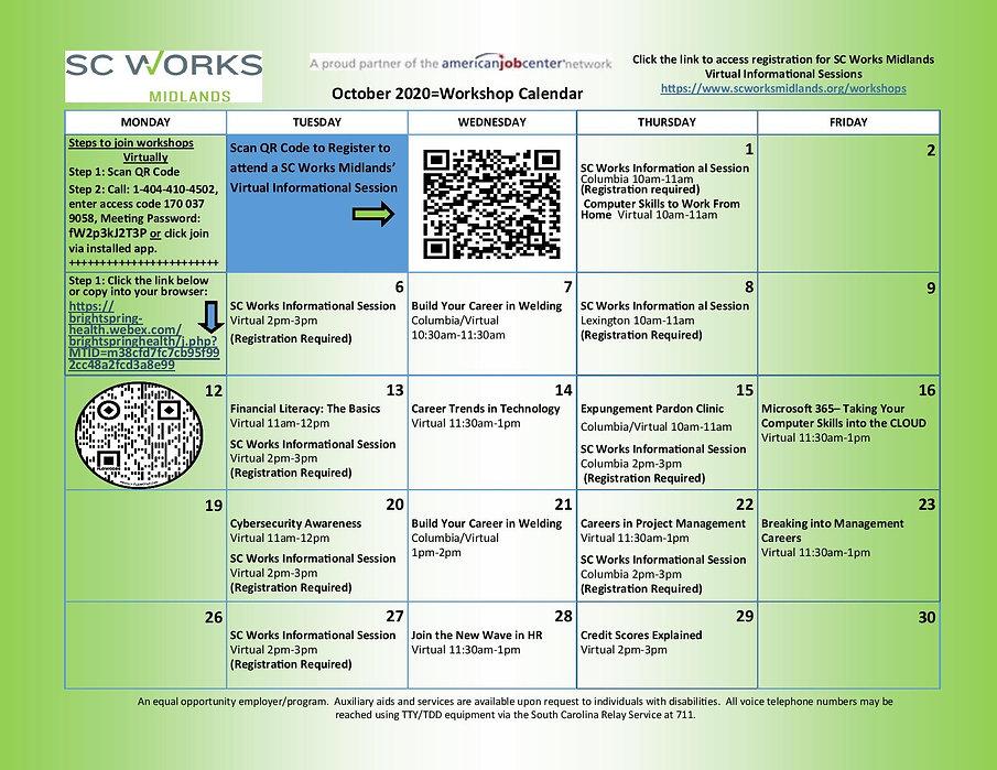 Workshops Calendar October 2020-page-001