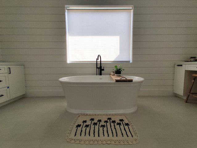 Shade Over Bathtube
