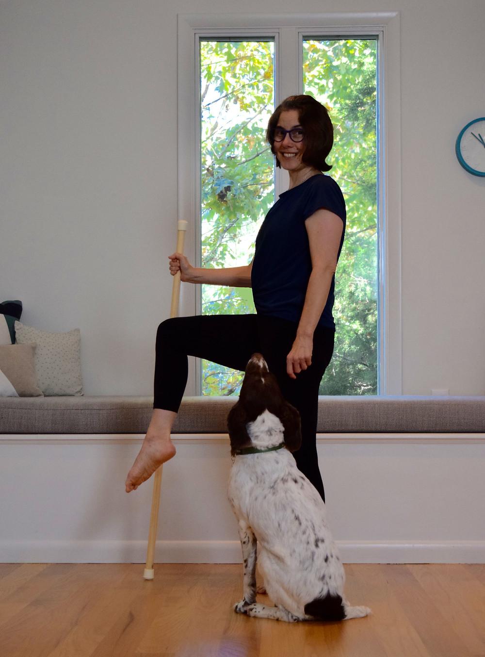 Balance like a Pro - Single Knee Raise