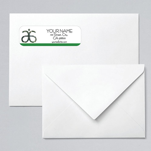 Arbonne return address labels Tree of life