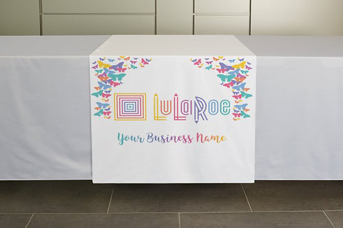 Lularoe table runner butterflies
