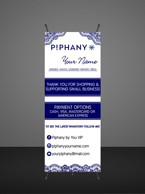 PIPHANY banner payment and Thank you