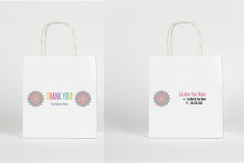 Lularoe paper bag Mandala