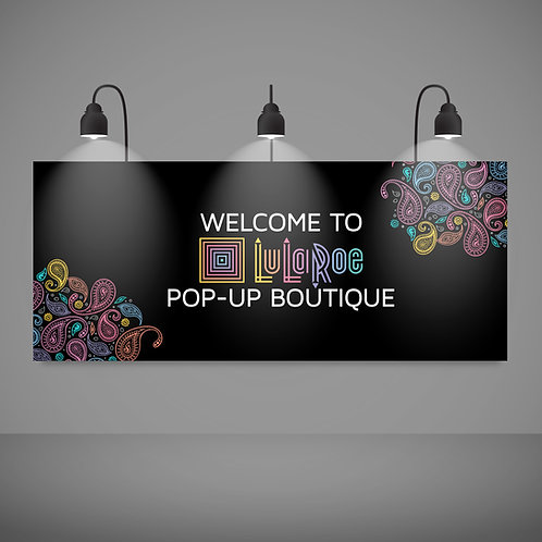 welcome pop up boutique paisley lularoe