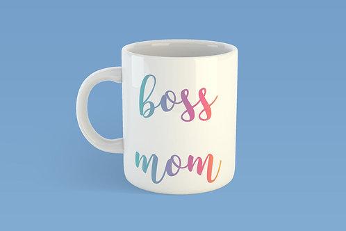 Boss mom mug