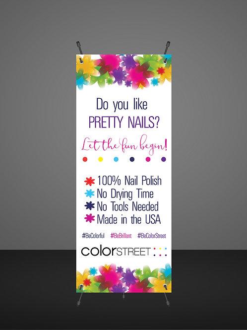 Color Street banner Instant Download