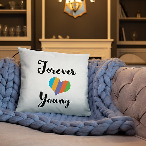 Forever young pillow