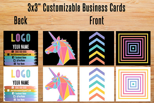 Lularoe square card