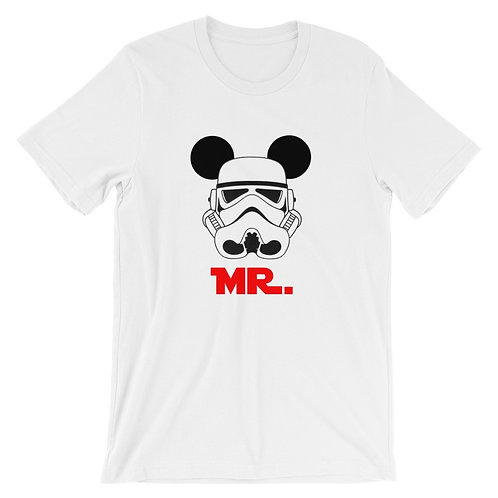 MR Stormtrooper Mickey ears - T-Shirt